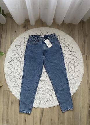 Zara джинсы mom fit, р.38
