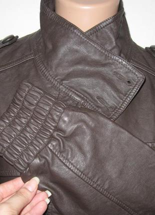 Новая кожаная куртка от next