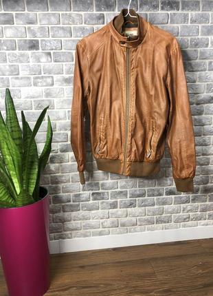 Мужская курточка colin's из кож заменителя