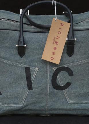 Стильная  большая сумка richmond denim