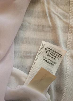 Блуза ,футболка, хлопок, спинка шифон.4