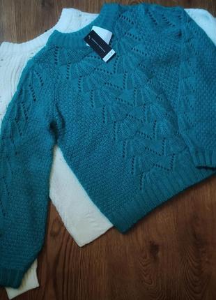 Невероятный свитер изурудного цвета от бренда dorothy perkins