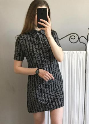 Крутое платье-поло из плотного материала!