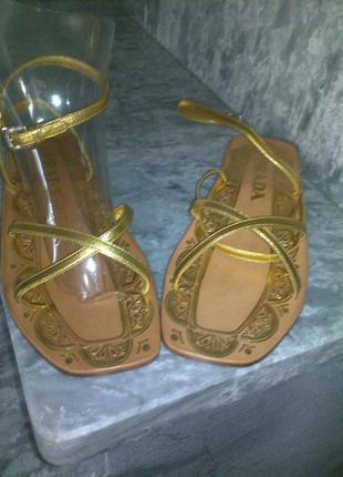 Prada босоножки сандалии  р.36 оригинал