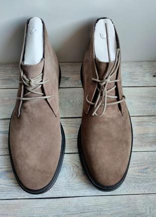 Ботинки туфли оригинал  замша calvin klein сша
