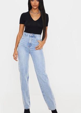 Трендовые джинсы мом на высокой посадке🔥