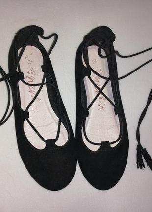 Классные туфли - балетки next