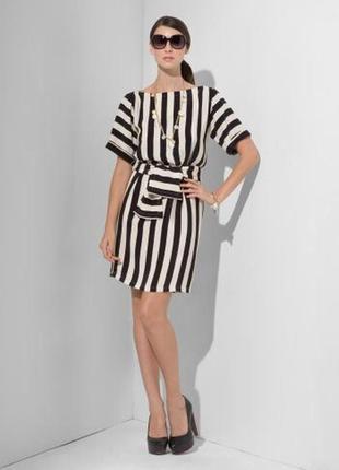 Шёлковое платье bcbg maxazria. размер xs
