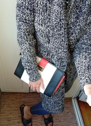 Кардиган пальто с сумкой в подарок до 10.10