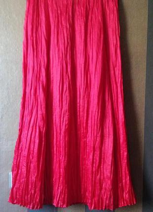 Длинная юбка натуральный шелк, коттон  gerry weber