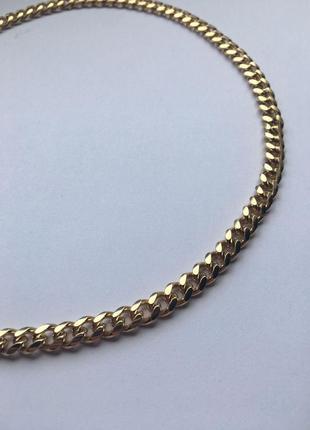 Ожерелье цепь на шею ожерелье подвеска тяжелая тренд 2020