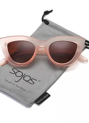 Солнцезащитные очки в матовой оправе