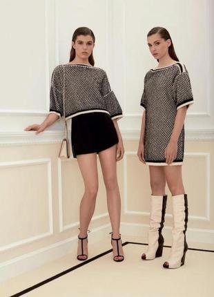 Платье свитер с lookbook elisabetta franchi оригинал