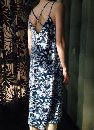 Шикарное легкое платье calvin klein