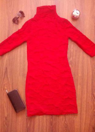 Красное платье clubdonna