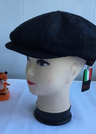 Кепка мужская восьмиклинка италия hook новая