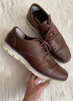 Туфли из натуральной кожи timberland