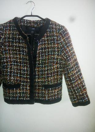 Укороченный пиджак от h&m