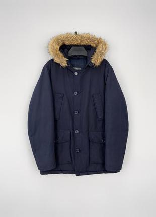 Ovs тепла куртка парка, утеплена штучним наповнювачем