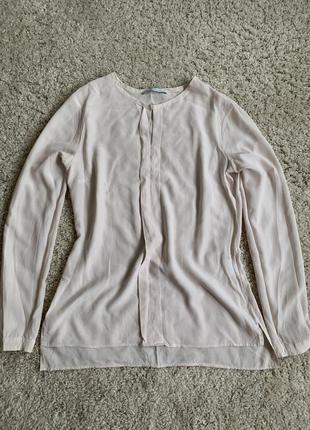 Базова блуза базовая блузка рубашка сорочка