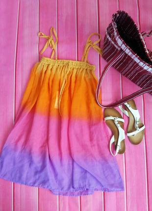 Парео летнее платье пляжное платье
