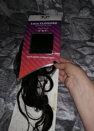 Шиньйон из натуральных волос