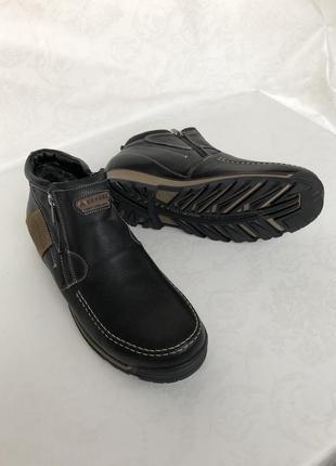 Сапоги,ботинки кожаные зимние