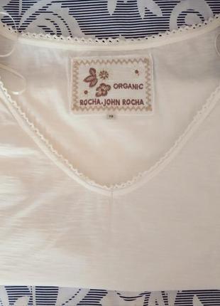 John rocha футболка organic cotton,rocha john rocha жіноча футболка organic cott