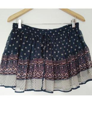 Легкая летняя юбка, размер s-m