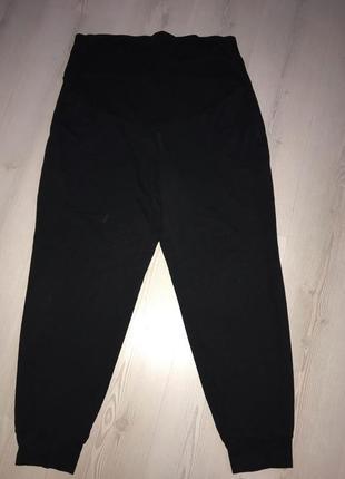 Штаны для беременных, повседневные  капри женские широкий пояс л-хл, штаны мама h&m