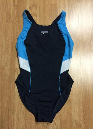 Крутой цельный спортивный купальник для бассейна speedo+подарок ремешок