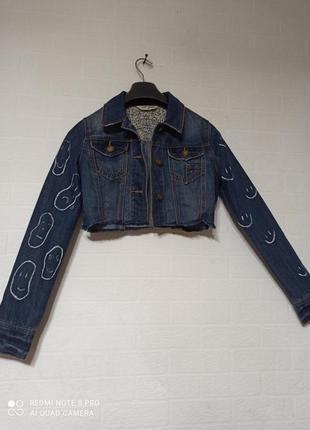Коротка джинсовка