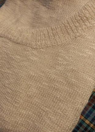 Пуловер без рукавов оверсайз звезда6 фото