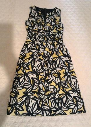 Супер платьице в листики