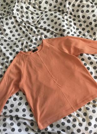 Морковная кофта