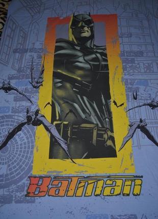 Обалденная качественная полуторная постель пододеяльник оригинал бэтмен batman оригинал
