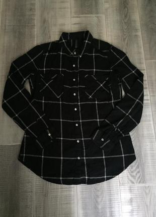 Рубашка h&m 100% катон  🥰