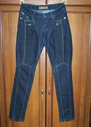 Синие оригинальные джинсы uno 30 размер