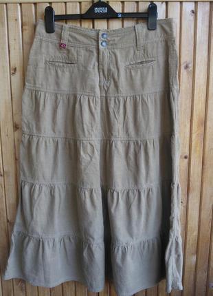Вельветовая юбка castro