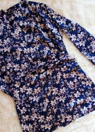 Легкий шовковий халат