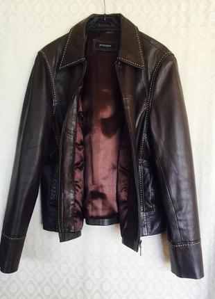 Куртка, пиджак, жакет из натуральной кожи, лайки