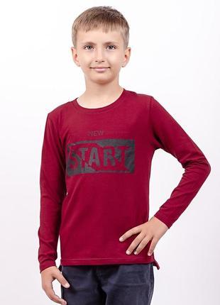 Джемпер футболка длинный рукав с принтом2 фото