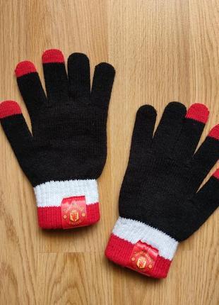 Перчатки manchester united манчестер юнайтед футбольные перчатки