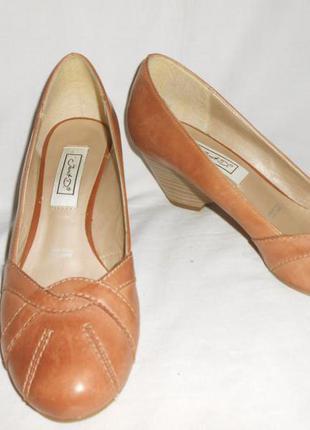 """Элегантные кожаные туфельки """"janet d"""", германия, 38 р (25 см )"""