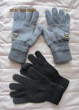Перчатки мальчику 8-10 лет и пара в подарок