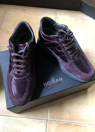 Брэндовые кроссовки hogan