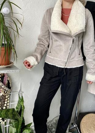 Искусственная косуха под дубленку crafted, куртка