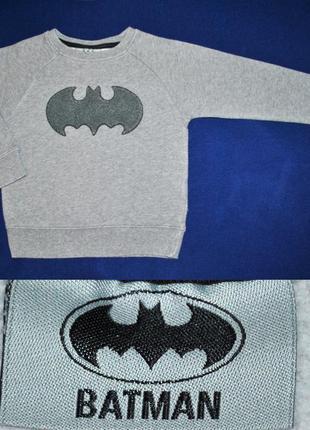 Свитшот next батник свитер бетмен на 2-3 года
