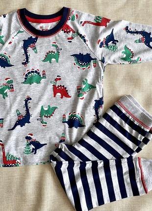 Праздничная пижамка для мальчиков