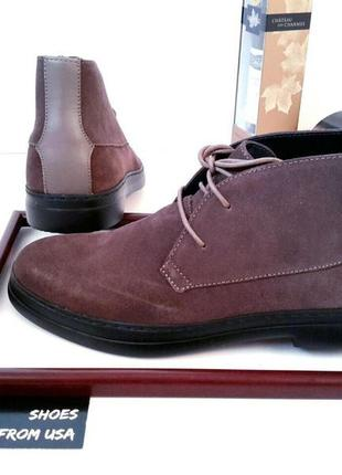Мужские ботинки кельвин кляйн (calvin klein). оригинал.